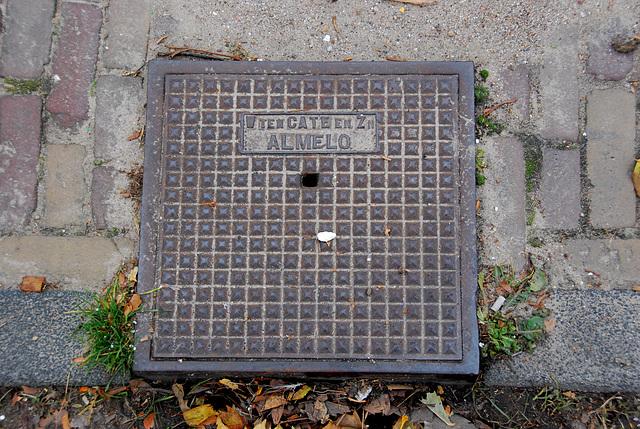 More drain covers: W. ten Cate en Zn, Almelo