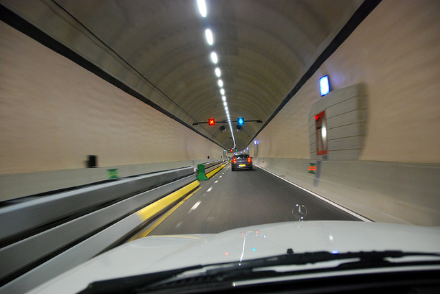 New tunnel in The Hague