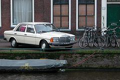 Merc, bikes and boat