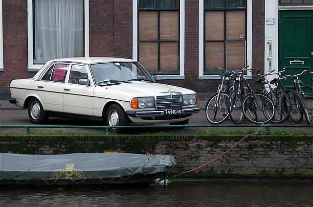 Merc, bikes and boat