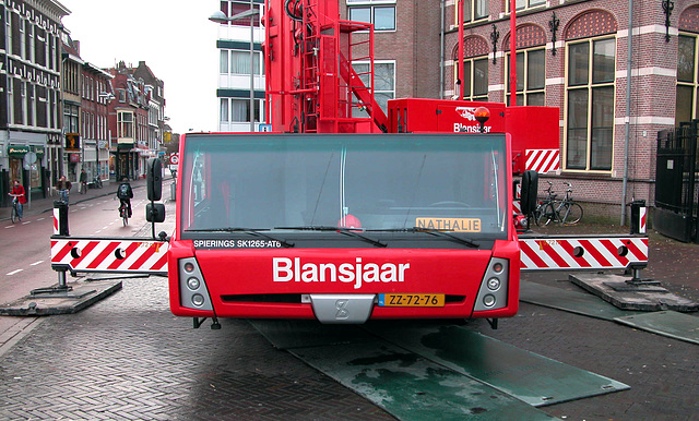 "Big crane in Leiden: 2005 Spierings SK1265-AT6 ""Nathalie"""