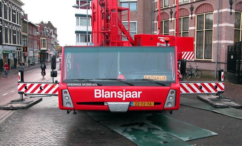 "Big crane in Leiden: 2005 Spierings SK1265-AT6 ""Nathalie"""