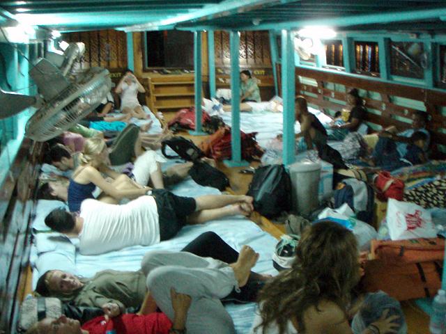 night ferry at midnight