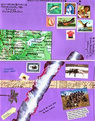 envelope going to australia