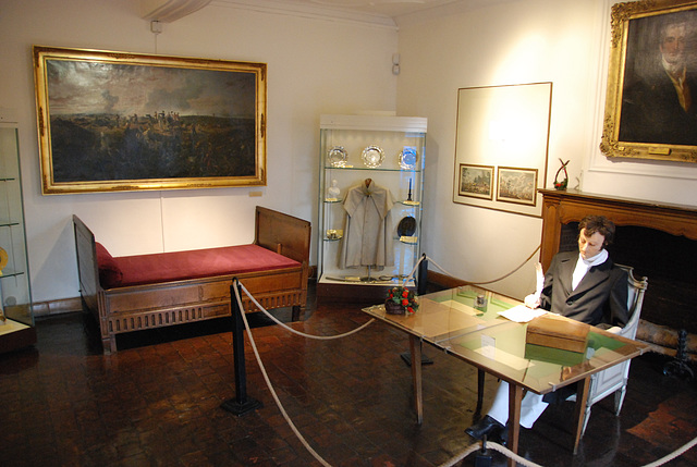 The room of the Duke of Wellington at Waterloo