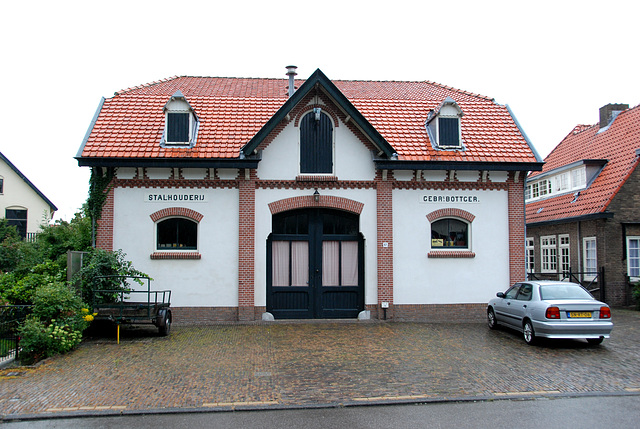 Former stables of the Bottger brothers