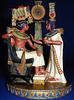 Tutankhamun and Ankhesenamun.