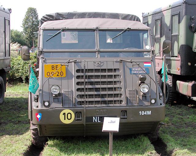 Oldtimer Day Ruinerwold: DAF YA 328 3 TON 6X6