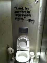 look for answers in improbable places