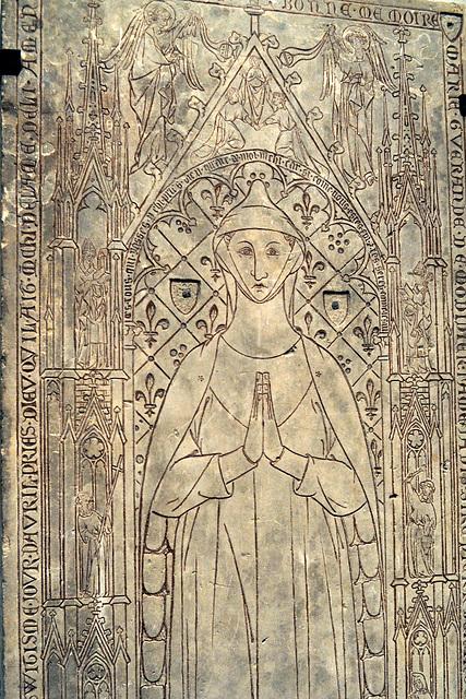 Stèle de Marie Guérande de Mondidier - Musée d'Evreux