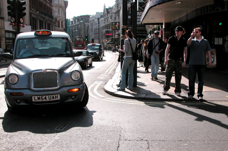 Turning traffic has priority over pedestrians