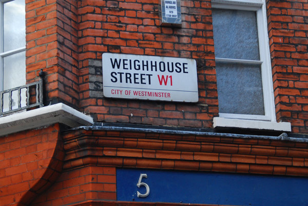 Weighhouse Street