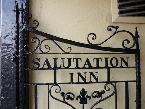 Salutation Inn gate, Tynemouth