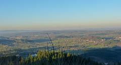 Depuis le Mont St Cyr en Saône et Loire, 779m