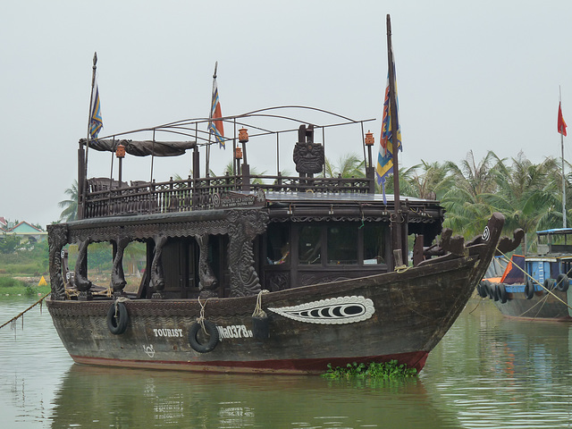 Ornate Tourist Boat