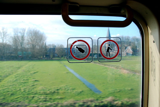 A trip to Eindhoven University: Don't throw bottles out of the window, don't lean out of the window