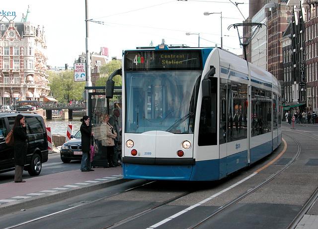 Trams of Amsterdam