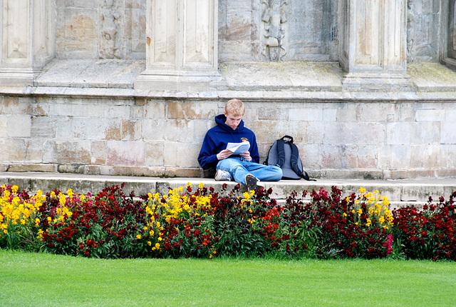 Cambridge: Student at Trinity