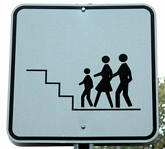 Stair walking for the Stick family