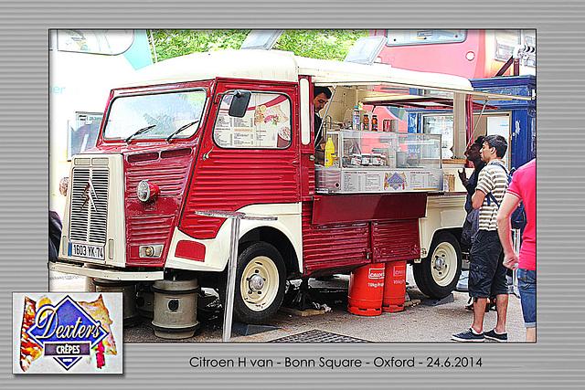 Citroen H van - Oxford - 24.6.2014