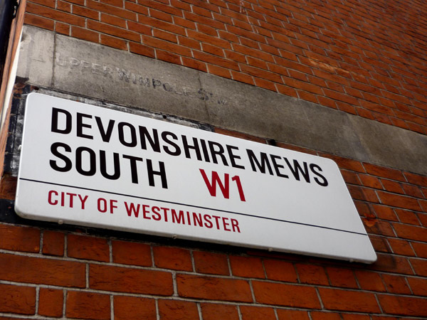 Devonshire Mews South