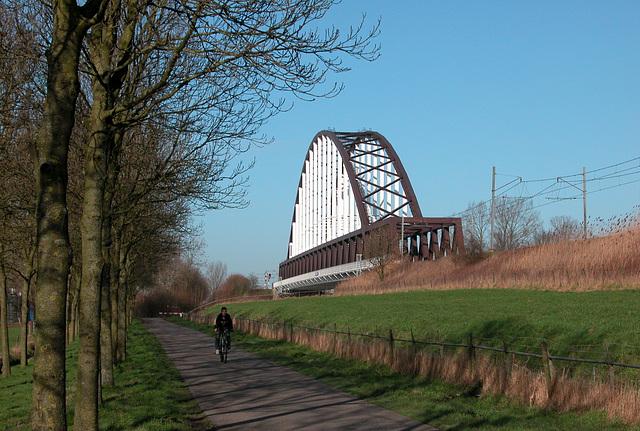 Railway Bridge at Schalkwijk