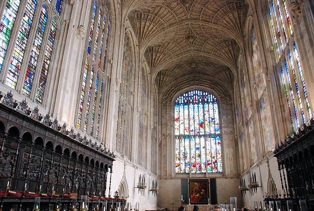 Cambridge: King's College Chapel