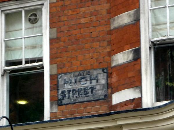 Late High Street (Marylebone)