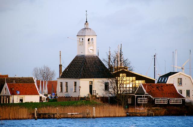 The church at Durgerdam