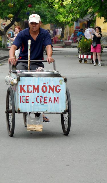 Ice-cream Man on a Mission