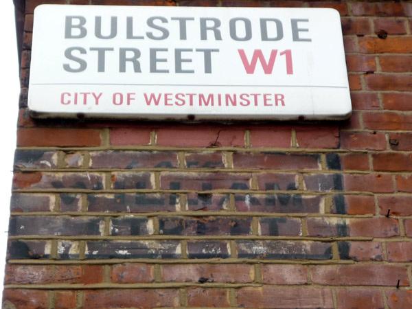 Bulstrode Street (Late William Street)