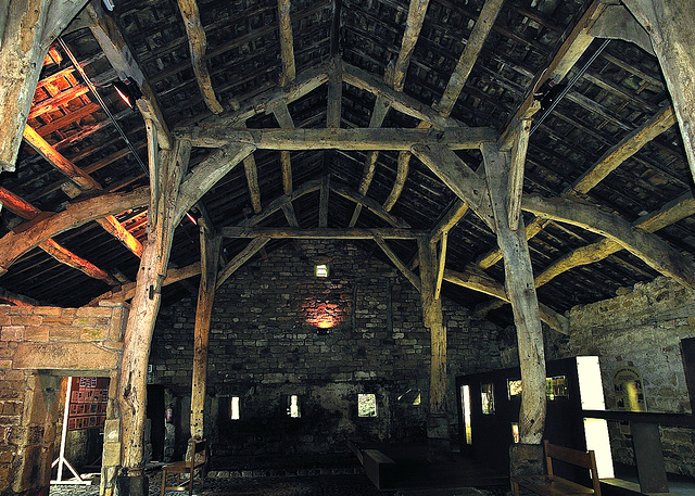 Aisled barn, 16th Century.