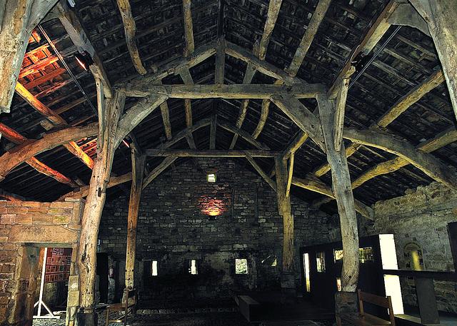 Aisled barn, 16th Century (1 of 2).