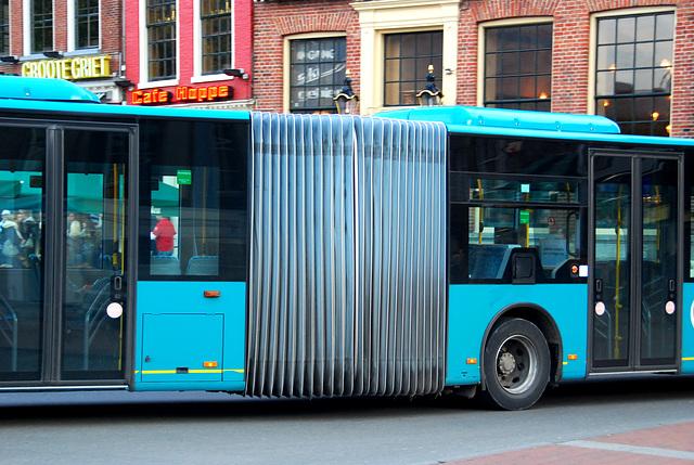 Groningen: Harmonica bus