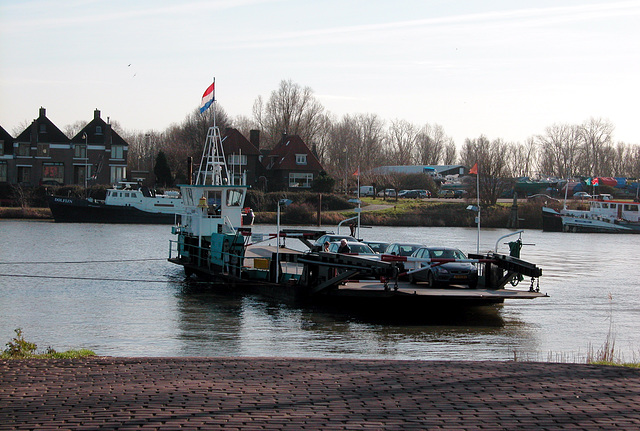 The ferry at Culemborg