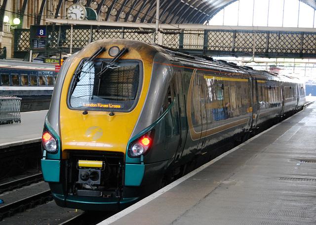 Train at London King's Cross