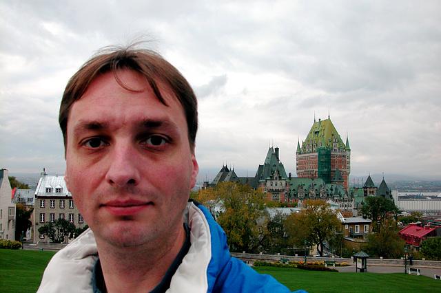 Me in Quebec City