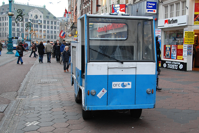Vehicle of a bakery in Amsterdam