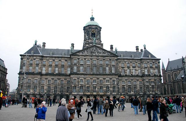 Former City Hall of Amsterdam