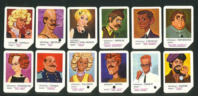 Ipernity Mattel Spy Detector Cards Second 12 By Smiley Derleth