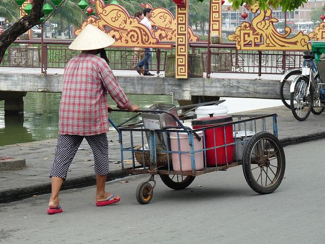 Three Wheels on His Wagon