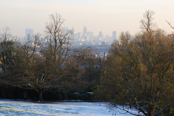 City from Waterlow Park