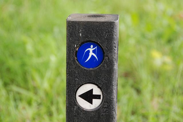 Nordic-walking sign
