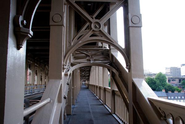 High Level Bridge walkway