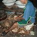market - coconut man