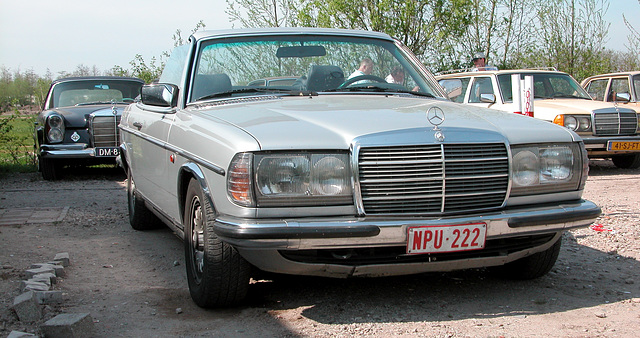 ipernity: A very rare Mercedes-Benz W123 cabriolet - by