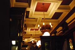 Crown Posada ceiling