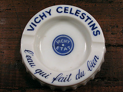 Ashtray series: Vichy Celestins water ashtray