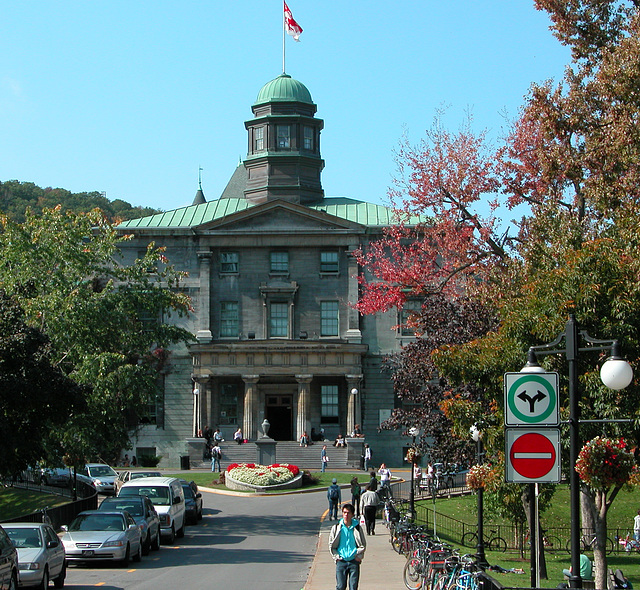 McGill University at Montreal, QC, Canada
