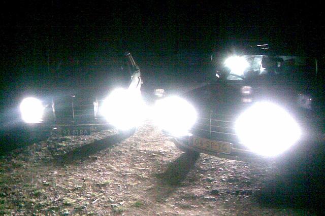 Nightly Mercedes Meeting